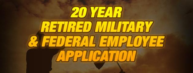 Retired Military App