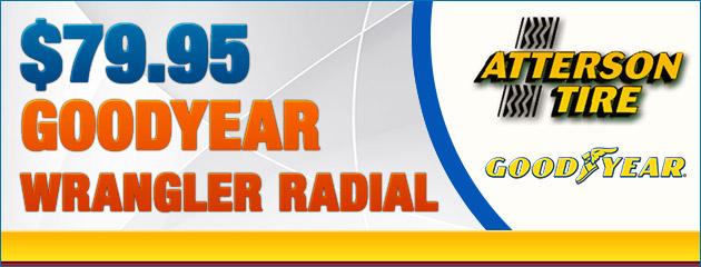 $79.95 Wrangler Radial Special