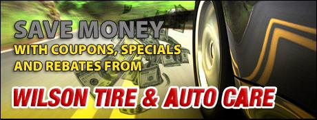 Wilson Tire and Auto Center Savings