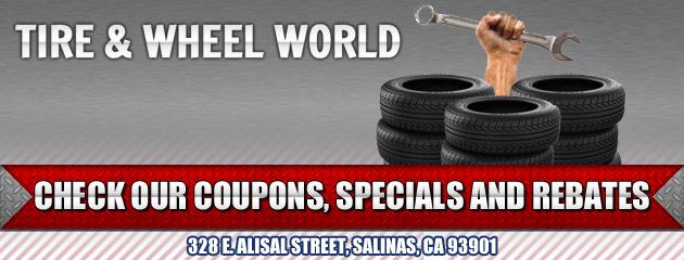 Tire & Wheel World Savings