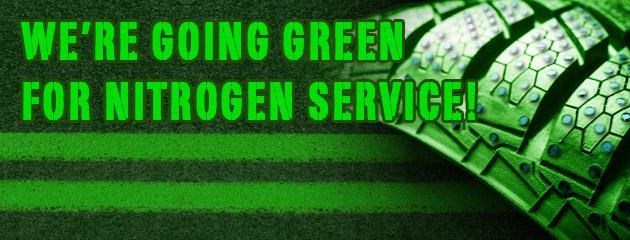 Going Green For Nitrogen Service