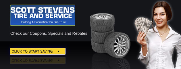 Scott Stevens Tire and Service Savings