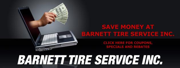 Barnett Tire Service Inc Savings