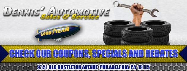 Dennis Automotive Sales & Service Savings