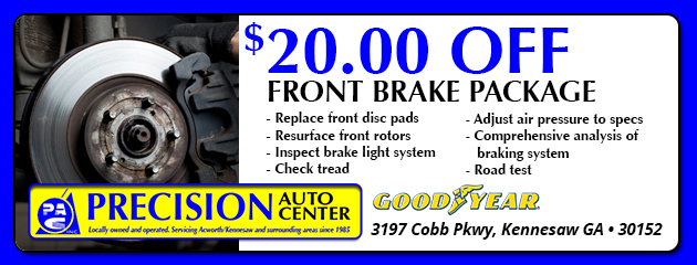 $20.00 Off Front Brake Package