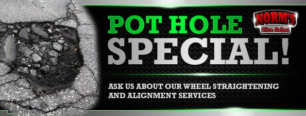 Pothole Special