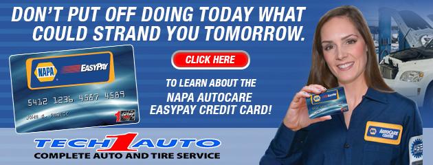NAPA Auto Credit Card