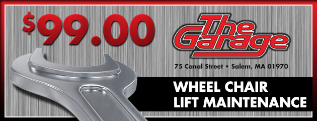 $99 Wheel Chair Lift Maintenance