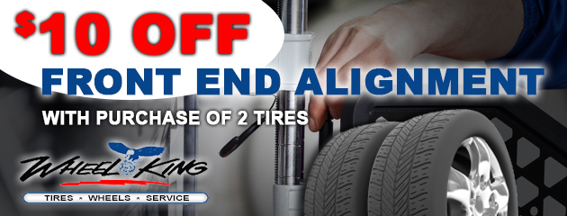 $10 Off Alignment With The Purchase Of 2 Tires