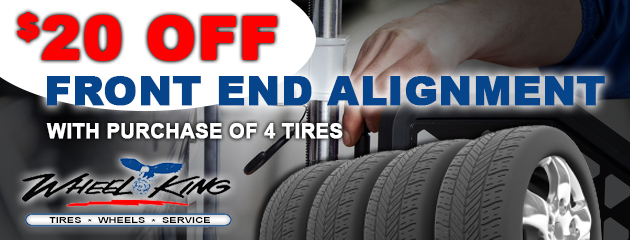 $20 Off Alignment With The Purchase Of 4 Tires
