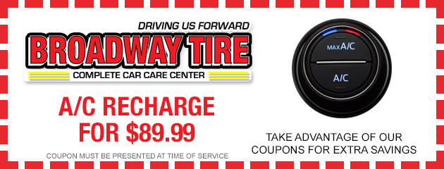 A/C Recharge $89.99