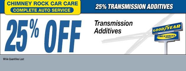 25% TRANSMISSION ADDITIVES