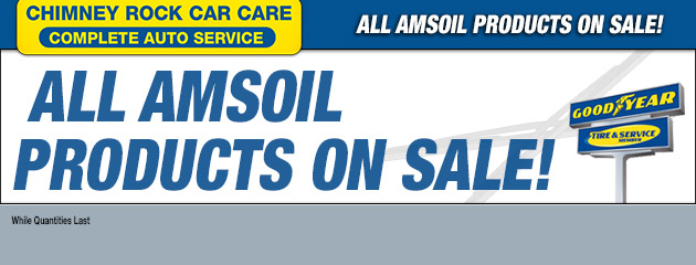 ALL AMSOIL PRODUCTS ON SALE!