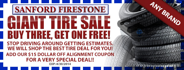 Giant Tire Sale!