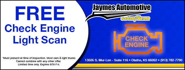 FREE Check Engine Light Scan