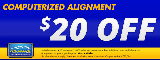 20 Off Alignment