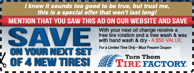Save On 4 Tires