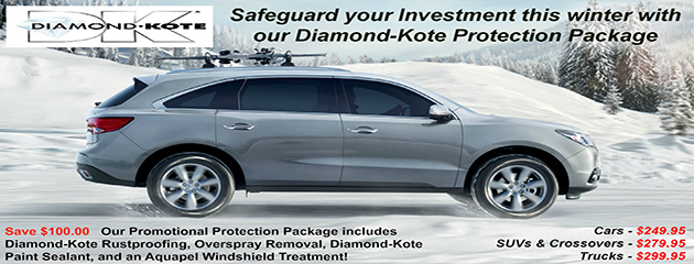Diamond-Kote Protection Package