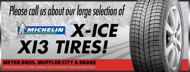 Michelin X-Ice Xi3 Tires