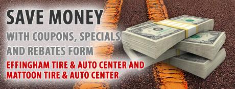 Effingham Tire and Auto Center Savings