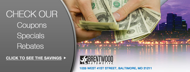 Brentwood Automotive Savings