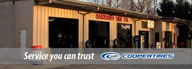 Oakwood Tire Cooper Tires