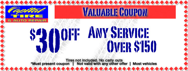 $30 Off Any Service Over $150