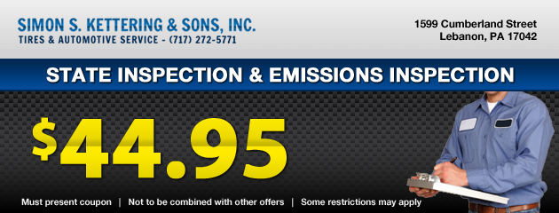 State Inspection & Emissions Inspection
