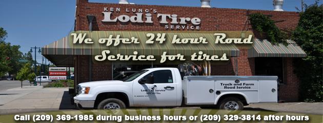 24 Hour Road Tire Service - Lodi Tire Service