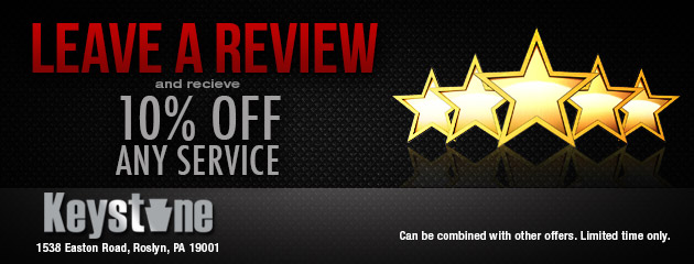 Leave a Review and receive 10% OFF any service.