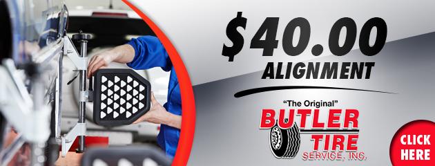 $40.00 Alignment