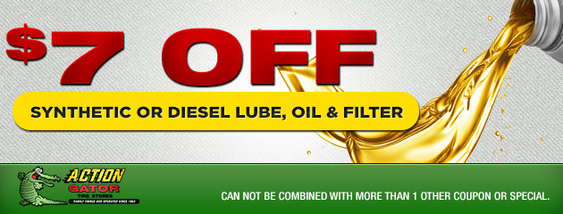 Synthetic Lube, Oil & Filter
