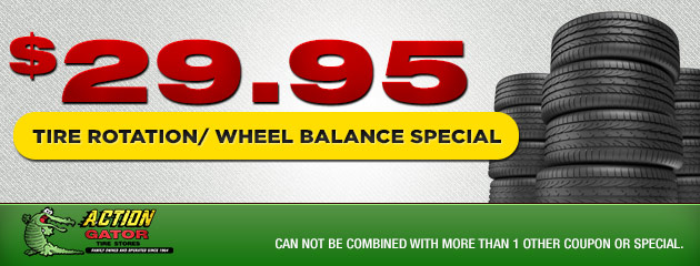 Tire Rotation/Wheel Balance Special