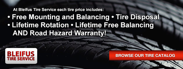 Purchase Tires from Bleifus Tire