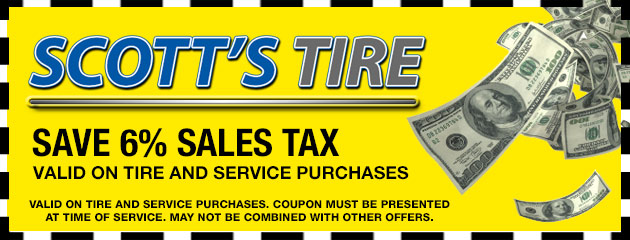 Save 6% Sales Tax