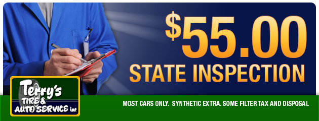 $55.00 State Inspection
