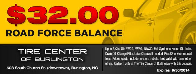 $32 Road Force Balance