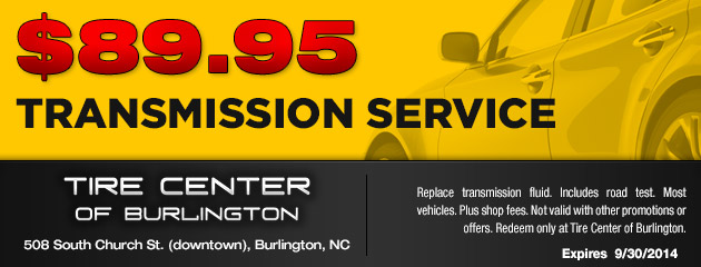$89.95 Transmission Service