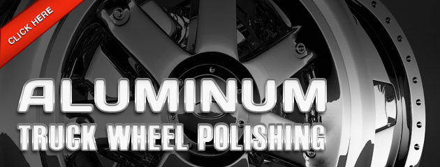 Aluminum Truck Wheel Polishing