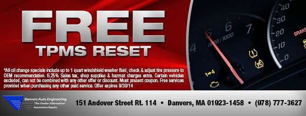 Free TPMS Reset