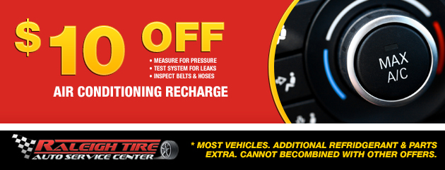 $10 off Air Conditioning Recharge