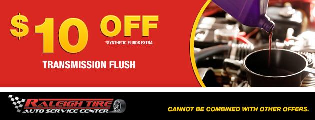$10 off Transmission Flush