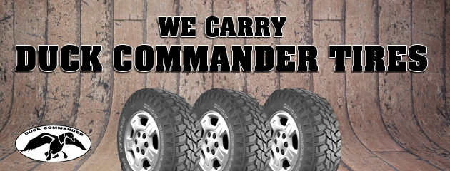 Duck Commander Tires
