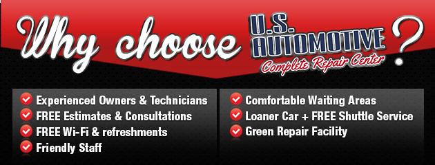 Why choose U.S. Automotive?