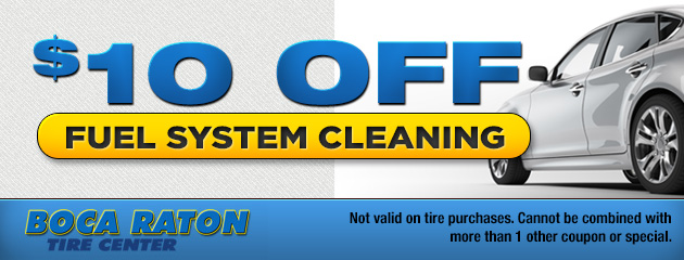 $10 Off Fuel System Cleaning