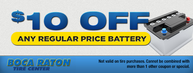 $10 Off Battery