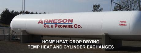 Arneson Oil & Propane Co Location
