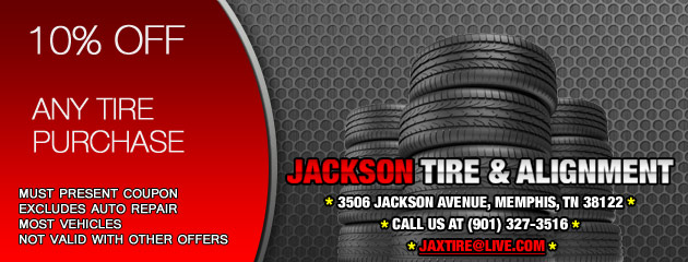 10% Off Tires