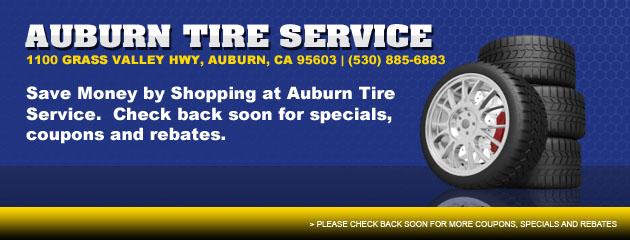 Save Money At Auburn Tire Service