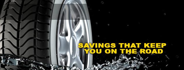 Jacks Tire Sales & Service Savings